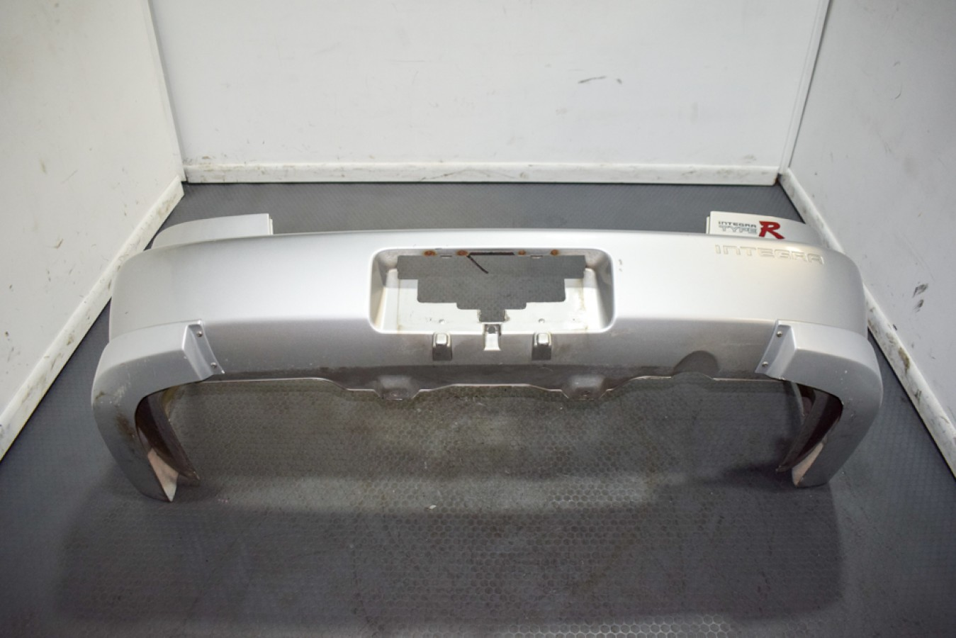 Clean And Low Mileage 94 01 Honda Acura Integra Db8 4 Door Rear Bumper In Silver With Spats For Sale Bumpers Lips J Spec Auto Sports