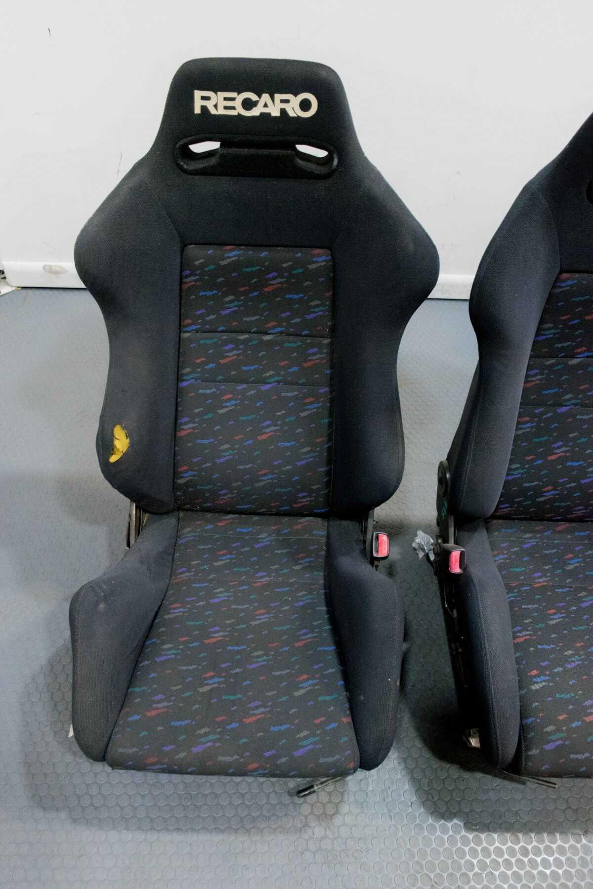 Toyota Of Sanford >> Used Set of Recaro Confetti SR3 Seats for JDM MK4 Supra 1993-2001 | Seats | J-Spec Auto Sports