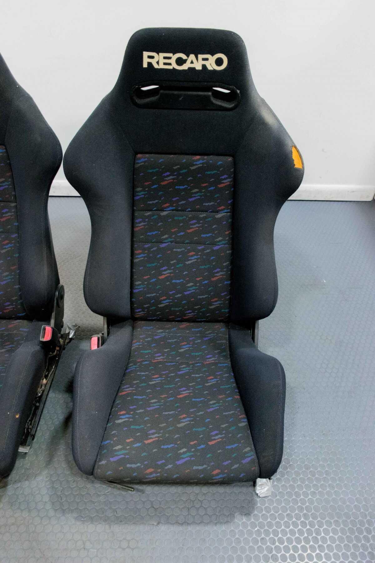 Cars Com Used Cars >> Used Set of Recaro Confetti SR3 Seats for JDM MK4 Supra ...