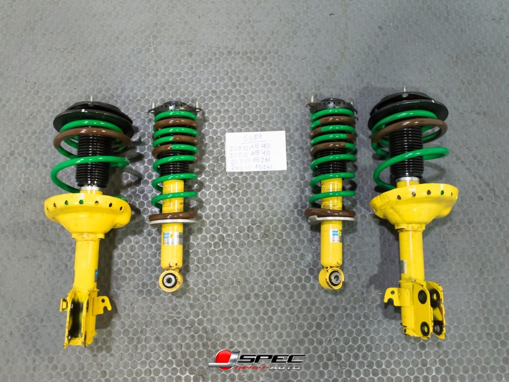 JDM Subaru Legacy BILSTEIN Shocks Struts Coil Springs Suspension 05-09 F//Left
