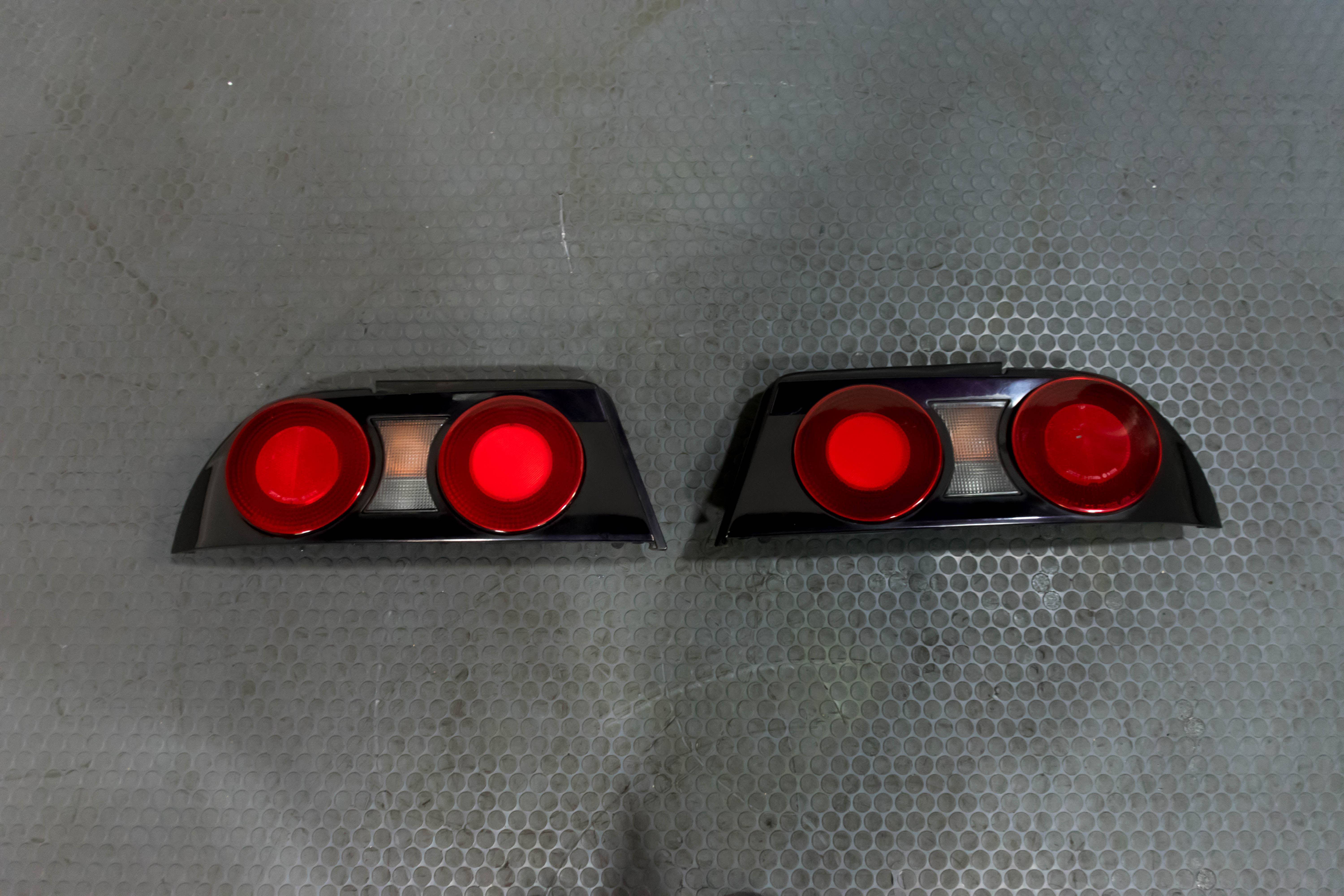 Used Jdm Super Rare Midnight Purple Tail Lights That Came