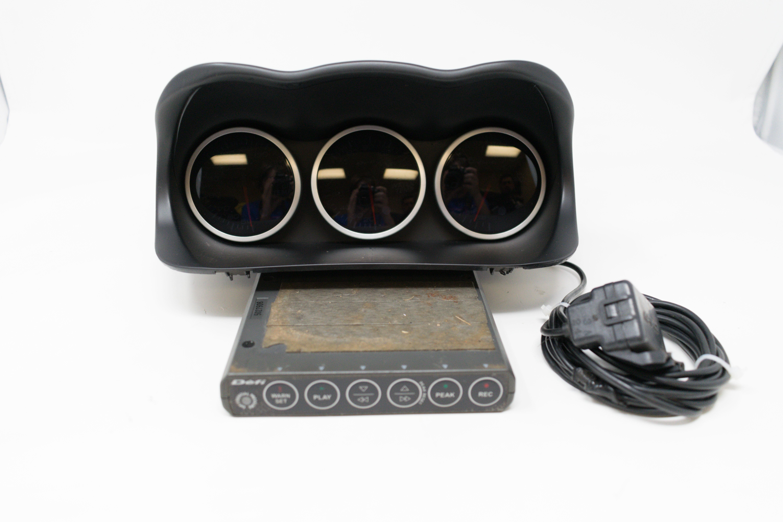 Used JDM set of Defi White Gauges (Oil Temp, Water Temp, Boost) w/ Control  Unit & Boost Sensor for sale
