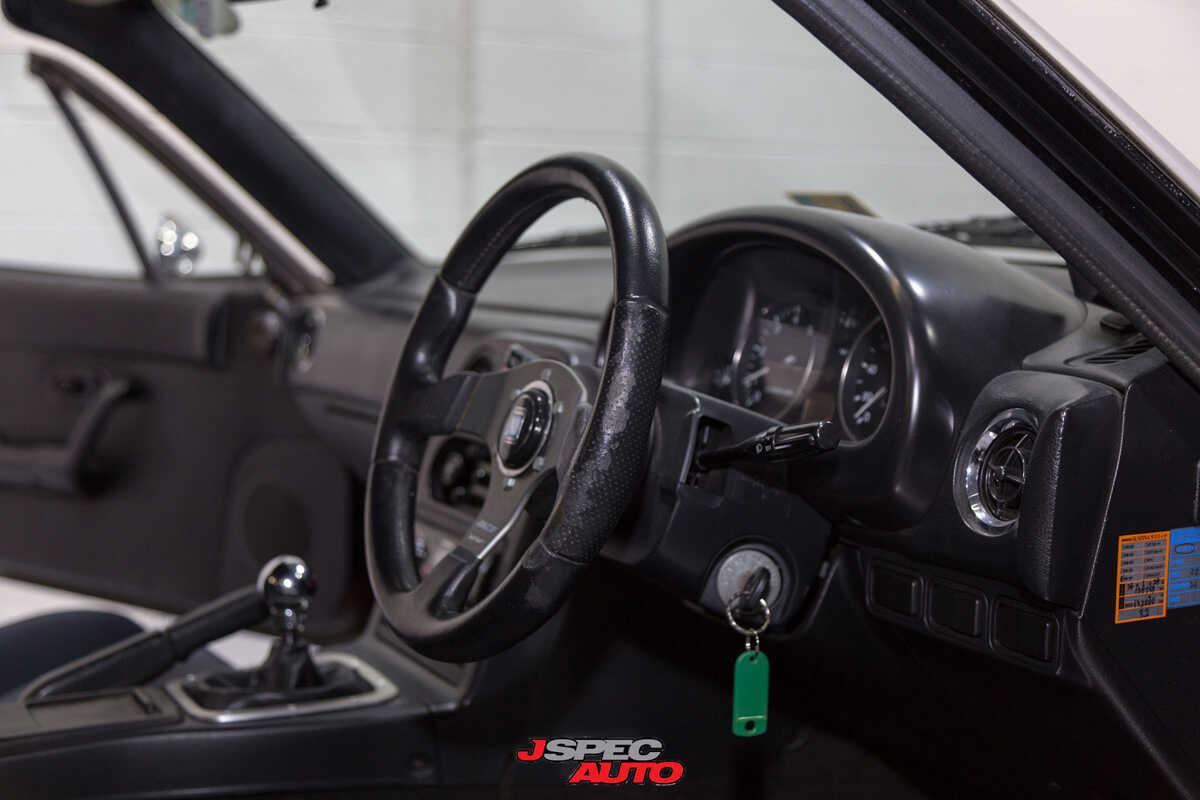 A on 1990 Mazda Miata Spoiler