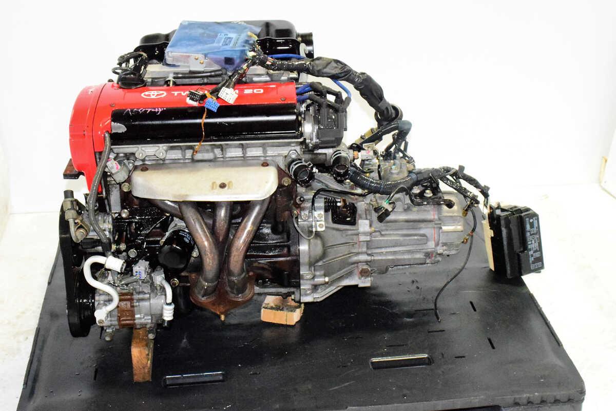 Jdm Toyota 4age Engine Blacktop 20 Valve 5mt Trans Ecu