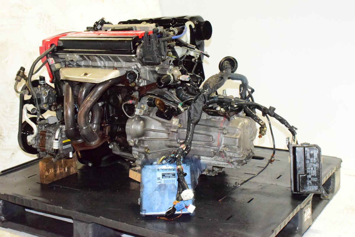 Jdm Toyota 4age Engine Blacktop 20 Valve 5mt Trans Ecu
