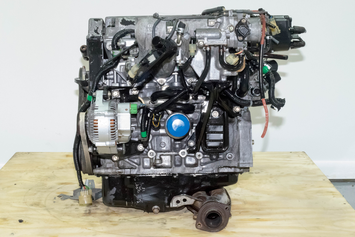 Compression Tested JDM Honda Civic CRX B16A Engine OBD0 Dohc Vtec Engine for Sale | | J-Spec ...