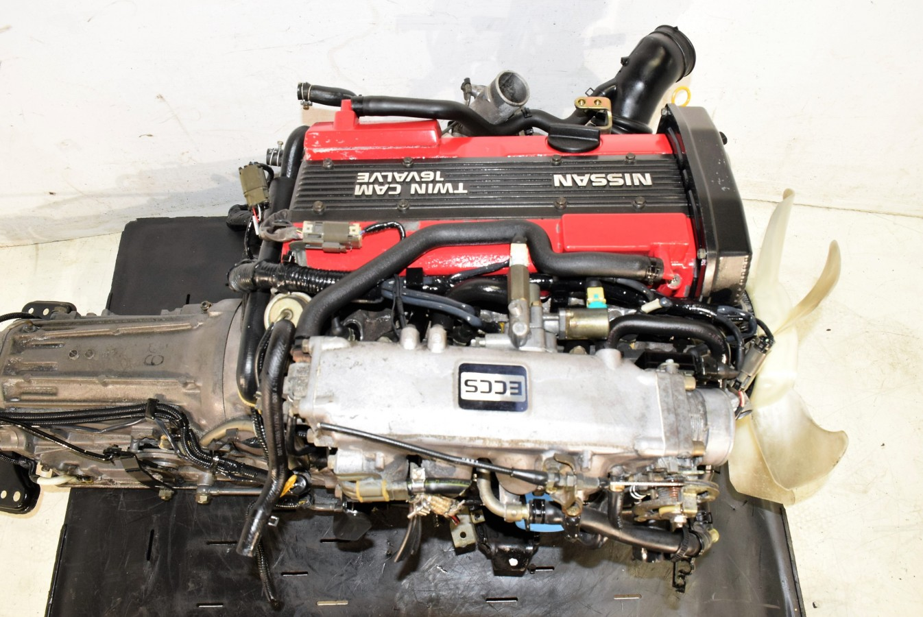 Used Jdm Nissan 240sx Ca18det Engine 1 8l Dohc Turbo With Rwd Auto Trans