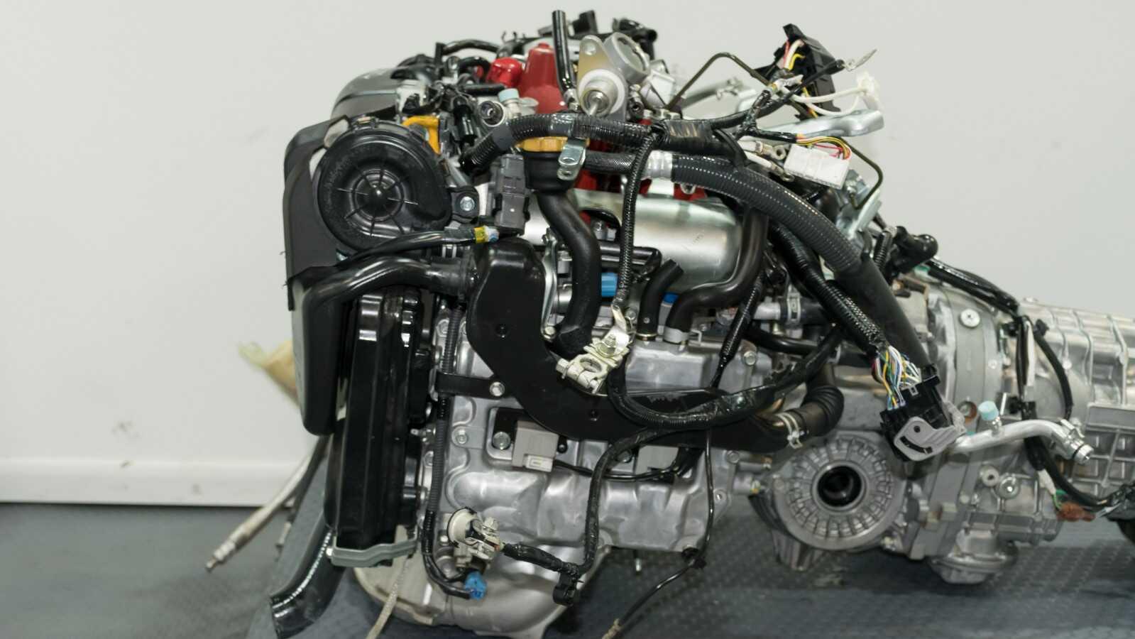 Jdm 2018 Impreza Wrx Sti Ej20y Engine Dual Avcs With Vf49