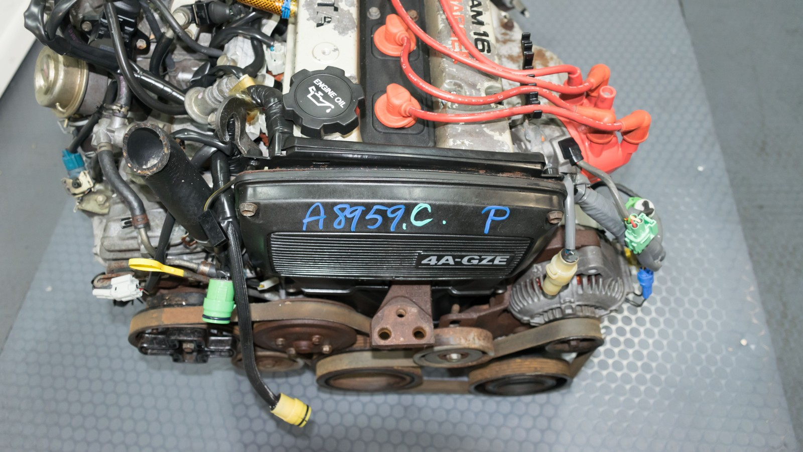 Jdm Toyota Mr2 4agze Supercharged Engine With 5 Speed