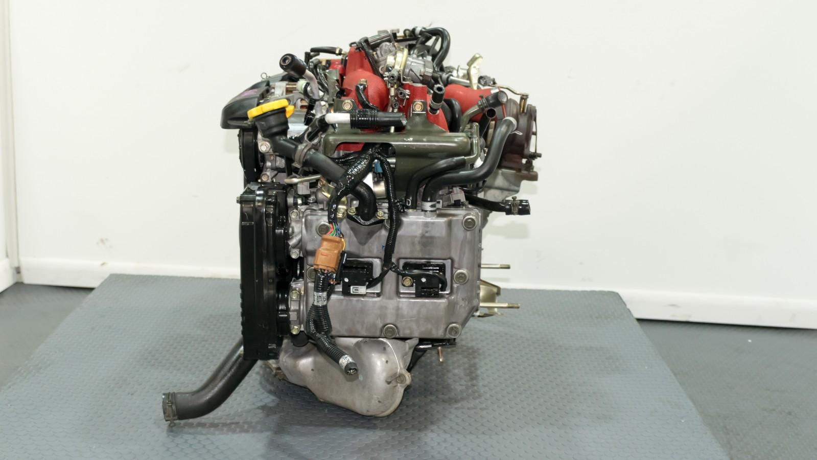 Jdm EJ207 Engine Version 7 EJ22 2 2L Stroker by Tommy Kaira built TMIC Ecu  Downpipe AVCS Harness