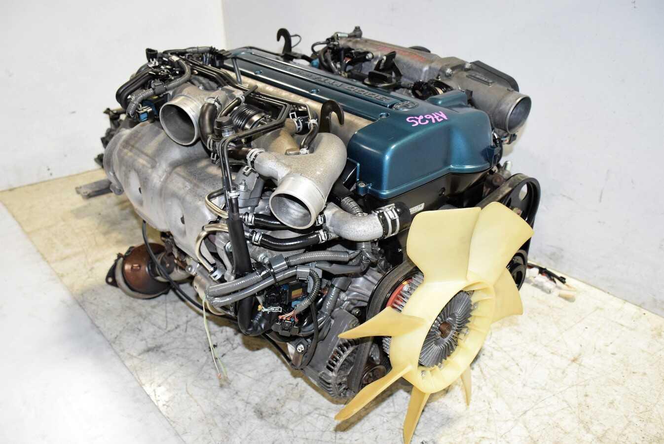 2jz Gte Vvt I Twin Turbo Toyota Supra Engine With V161 6 Speed Wiring Harness Supera 1140 Dsc 0415