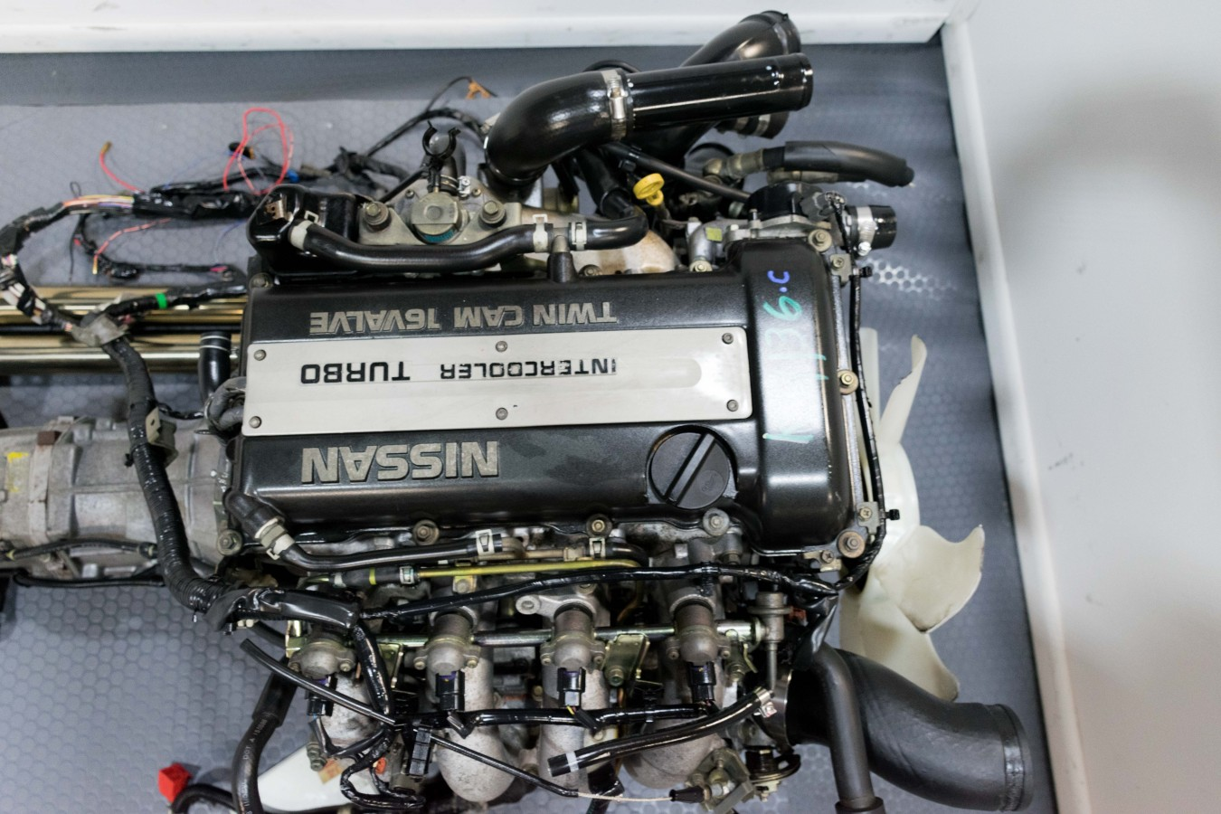 SR20DET Blacktop Engine with 5MT Transmission For Sale for Nissan 240sx  Silvia 180sx Low Mileage