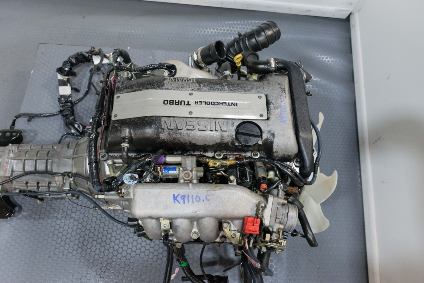 Used JDM Nissan SR20det S15 Turbo Engine, 6mt RWD Trans, Harness, MAFS, Ecu  for sale