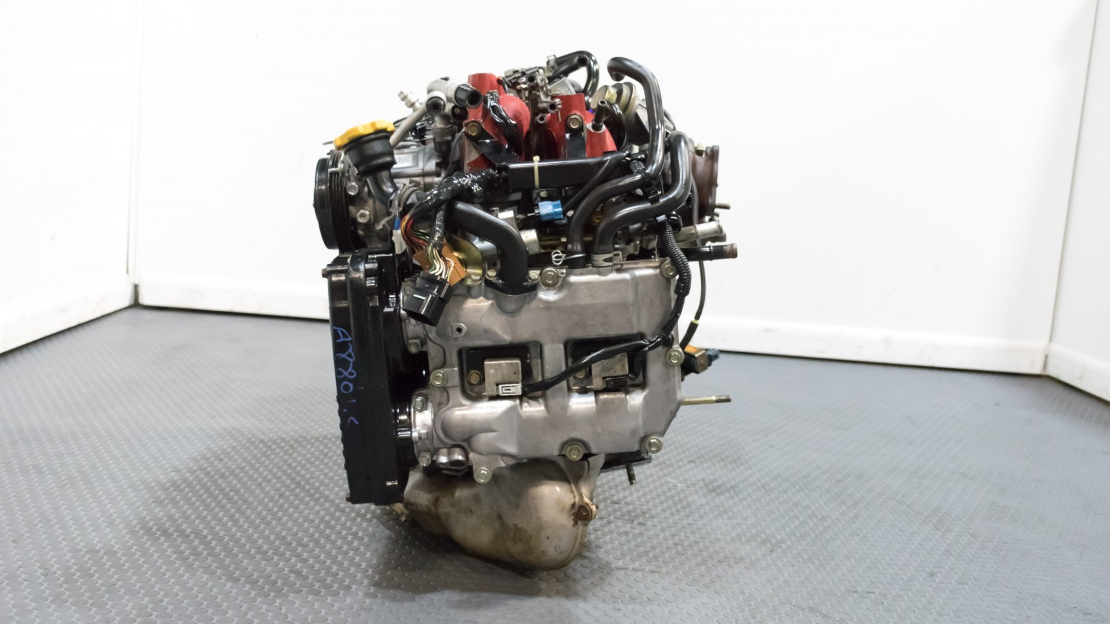 used JDM Subaru Forester STi EJ255 2 5L 04-07 Motor Swap with Tomei  Turbocharger For Sale FSTI Drive by Wire WRX 06-07