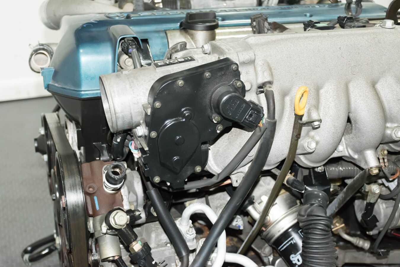 Clean Jdm Toyota Aristo 2jz Gte Vvti Complete Engine Auto Trans Wiring Harness Ecu Ignitor Chip Mafs