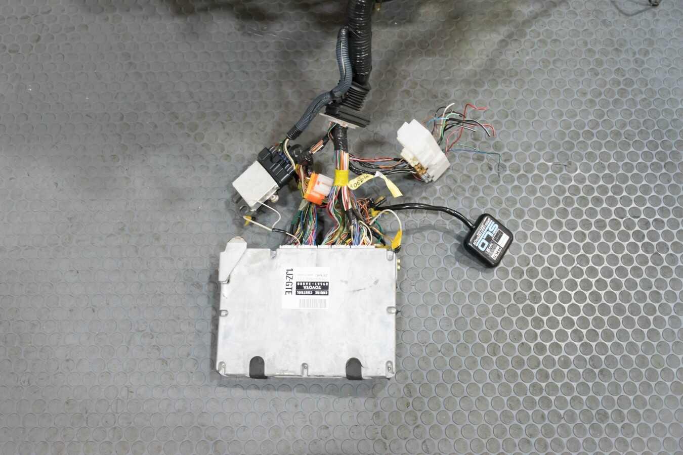 1jz Vvti Complete Swap With Ecu Transmission Wiring Harness 1jzgte 1191 Dsc 0246