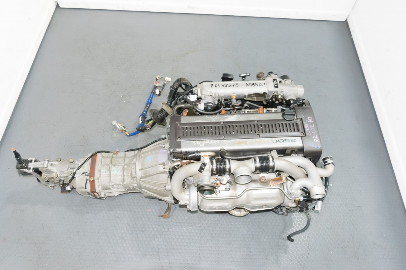 Used 1JZGTE Non VVTi Toyota Soarer Engine with Front Sump Oil Pan and R154  Transmission