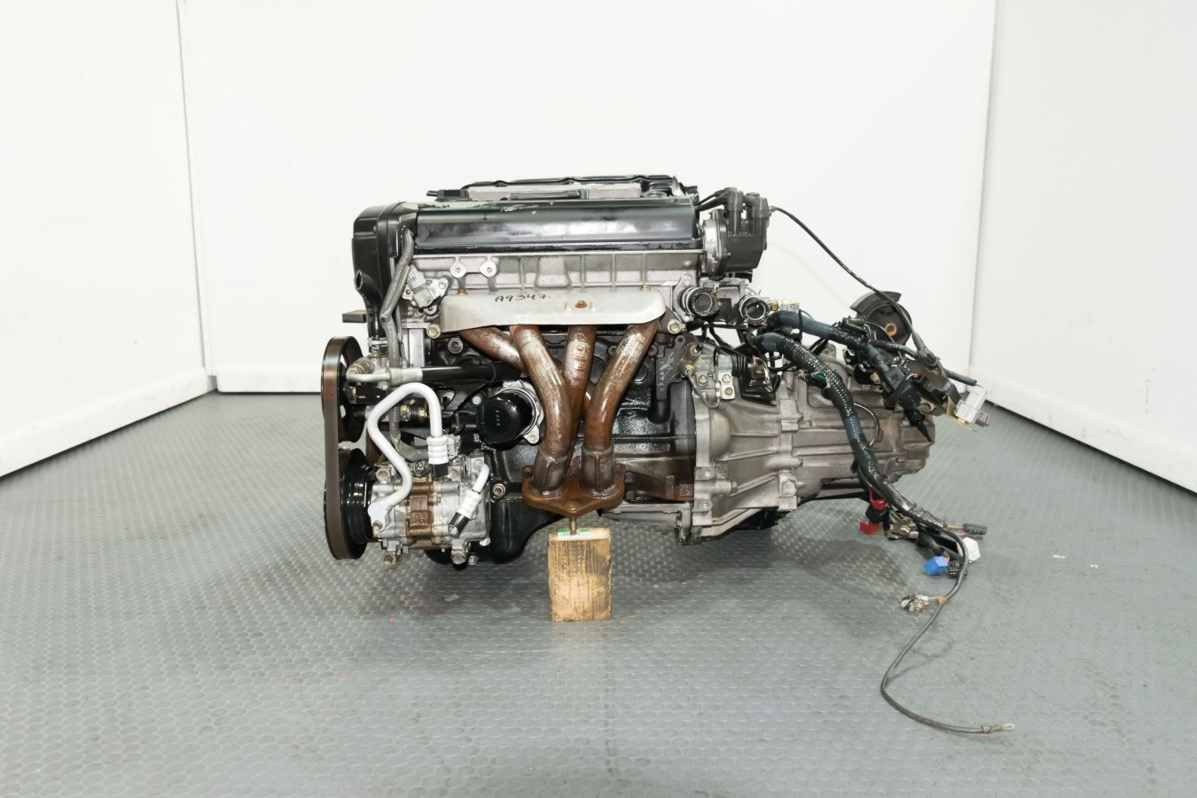 1995-2000 Toyota Corolla 1 6L Twin CAM 4 Cylinder 20 Valve Blacktop 4age  Engine 5mt Swap Ecu Harness