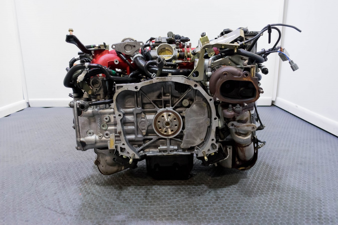 JDM EJ207 Ver  7 STI Engine Swap for 02-05 Subaru Impreza WRX with TGV  Delete Option that includes TMIC, OEM Downpipe and ECU Package for sale