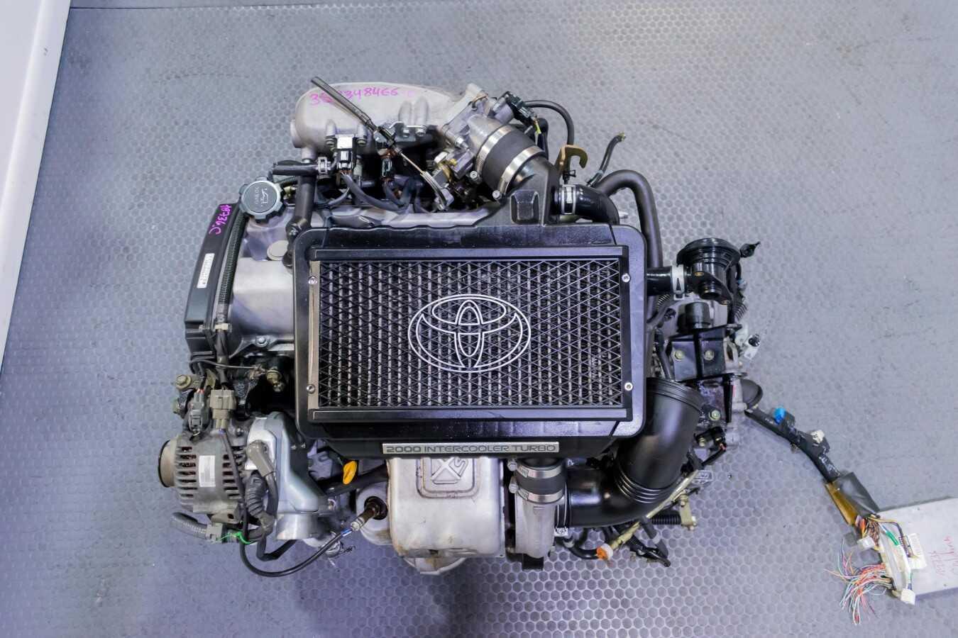 JDM Used 3S-GTE Gen 4 Turbocharged Toyota Caldina Engine for Celica MR2  Corolla swap etc