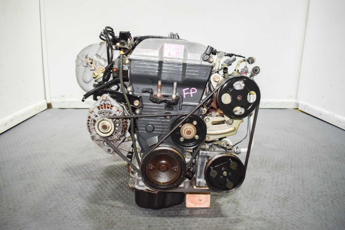 Used Low Mileage Jdm 99 00 Mazda Protege 1 8 Liter Fp Engine For Sale Mazda Protege 1999 2003 2 0l Fs Engine J Spec Auto Sports