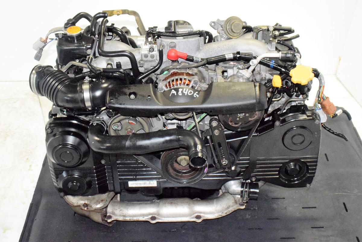 Jdm Impreza WRX EJ205 Engine Replacement Quad Cam AVCS with TD04 Turbo