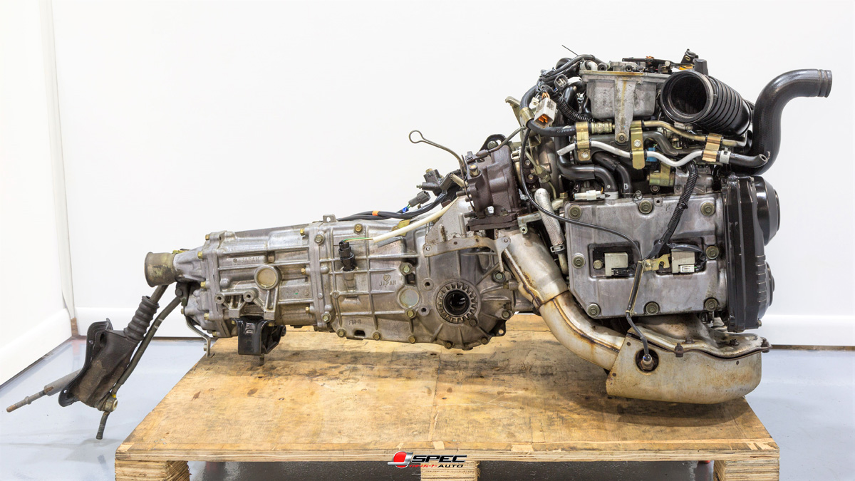 Used JDM Subaru WRX EJ205 Engine with TGV Delete
