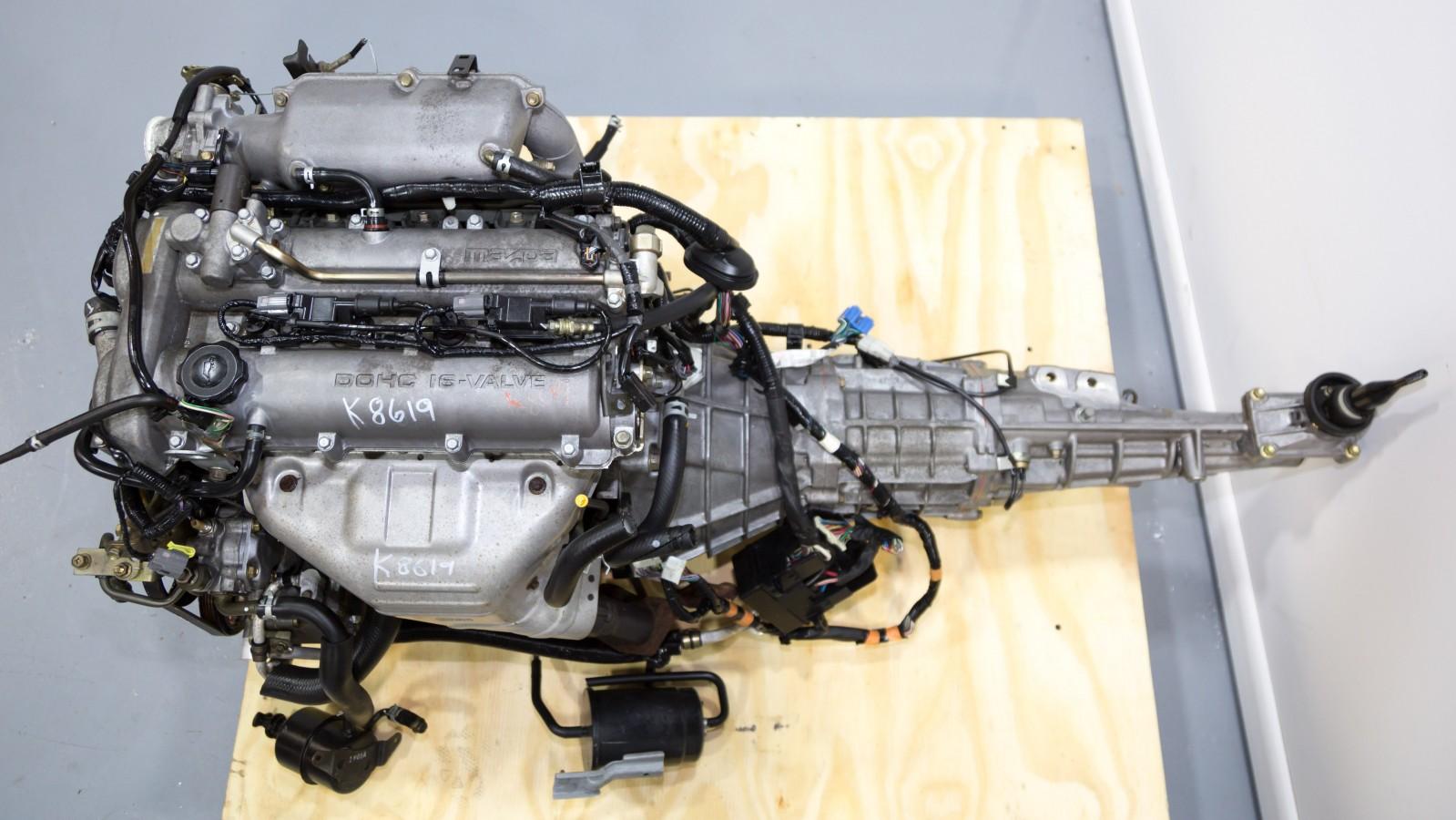 Mazda Miata Mx5 Bp Engine 1 8l With Variable Valve Timing Vvt Technology