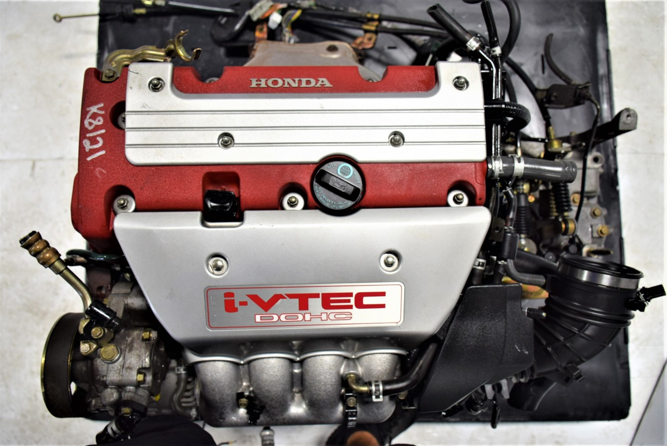 Clean JDM Acura RSX Type R KA Engine With Mt LSD YM - Acura rsx engine