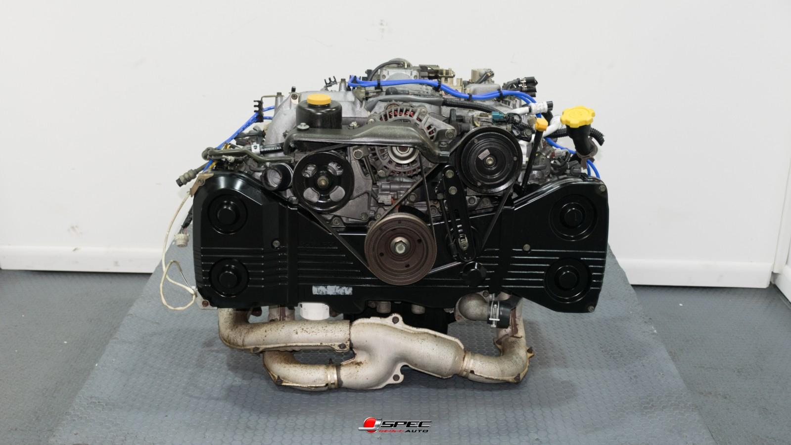 JDM SUBARU EJ25 MOTOR DOHC QUAD CAM 2 5L ENGINE EJ25D MOTOR 1996-1999  SUBARU LEGACY & 1998 FORESTER