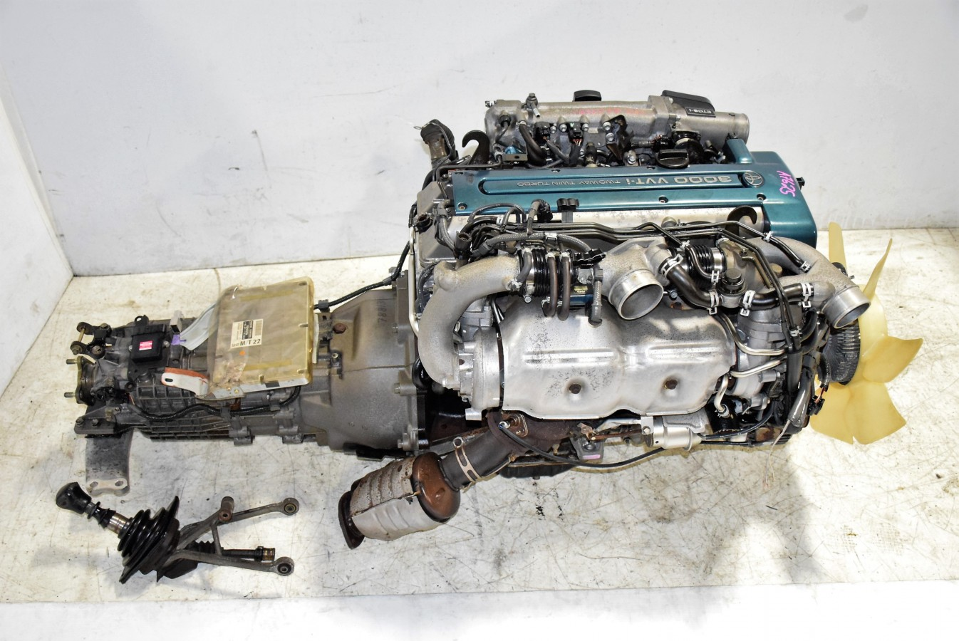 2jz Gte Vvt I Twin Turbo Toyota Supra Engine With V161 6 Speed Wiring Harness Supera Manual Trans