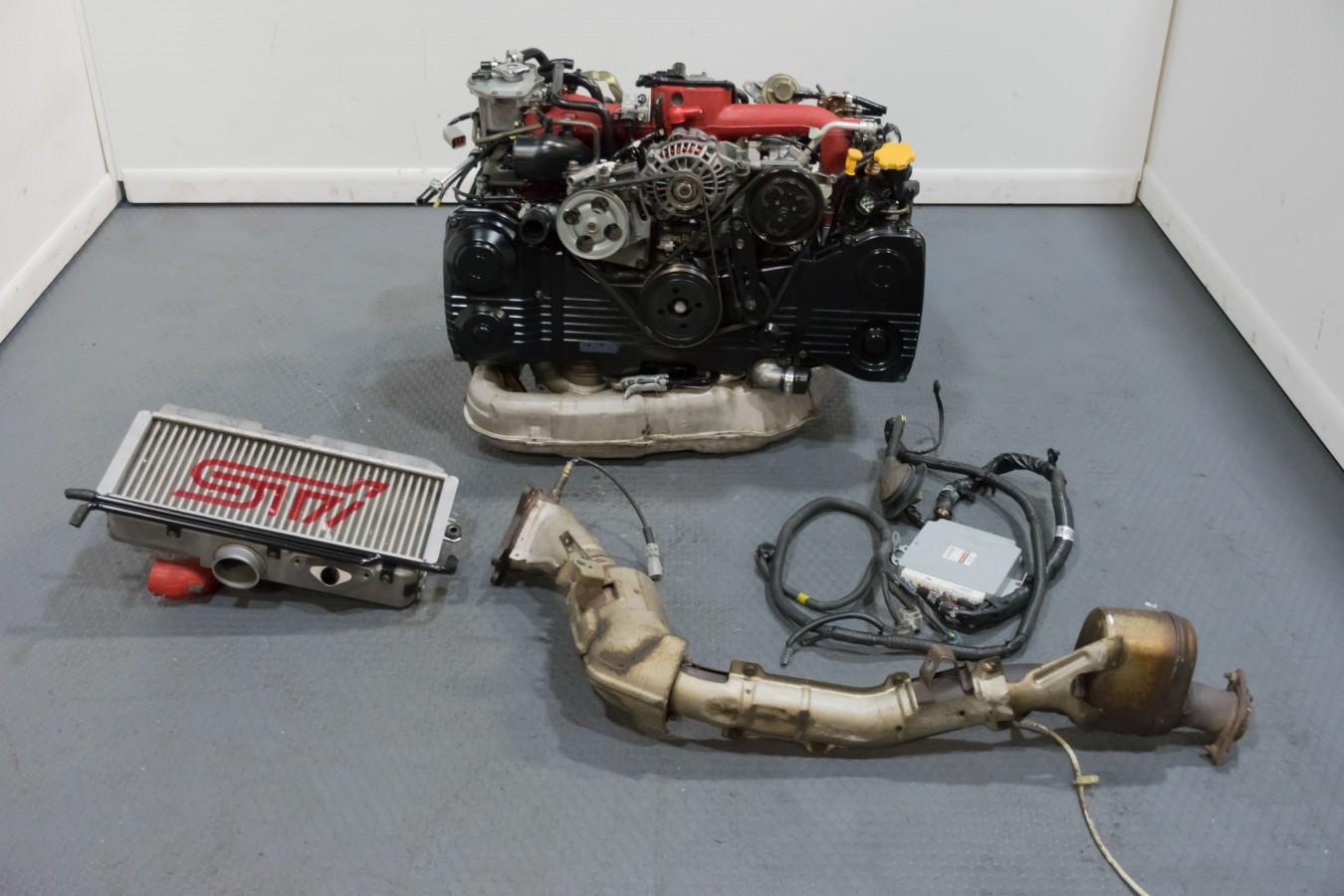 Version 9 EJ207 JDM WRX STi Engine Package with VF37 Twin Scroll Turbo on