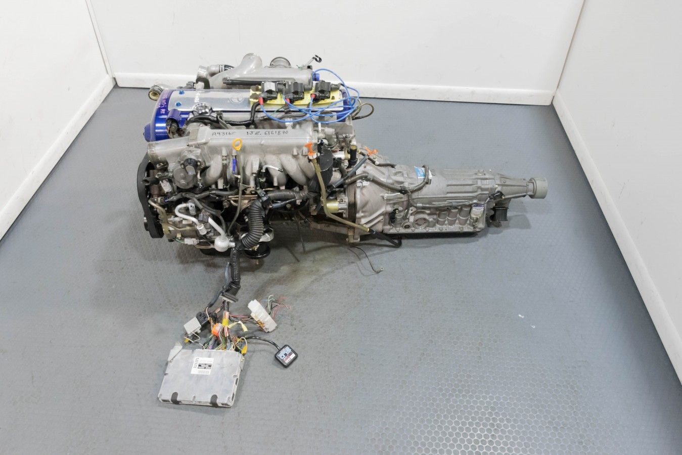 Clean Jdm Toyota 1jz Gte Vvti Front Sump Engine With Flex Throttle 1jzgte Wiring Harness 1195 Dsc 0239