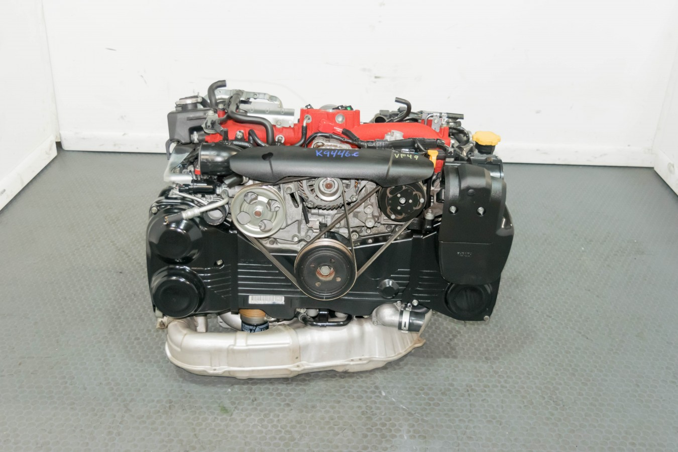 Jdm V10 Subaru Sti 2008 2014 Ej207 2 0l Engine Swap For Sale With Vf49 Twin Scroll Turbocharger