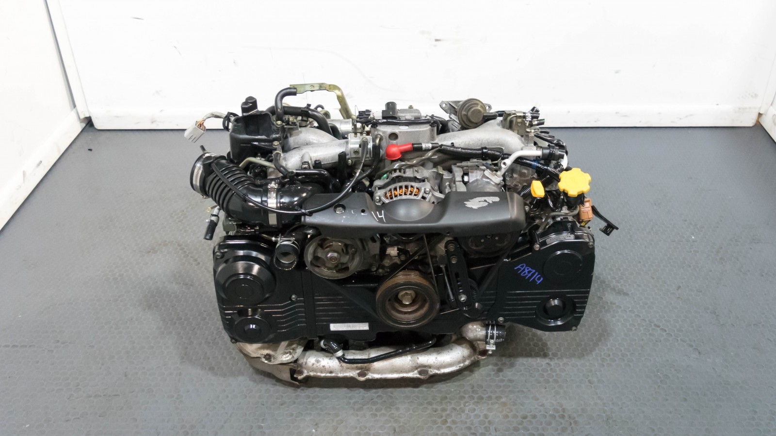 Clean JDM Impreza WRX EJ205 Engine Replacement with AVCS , TGV & TD04 Turbo