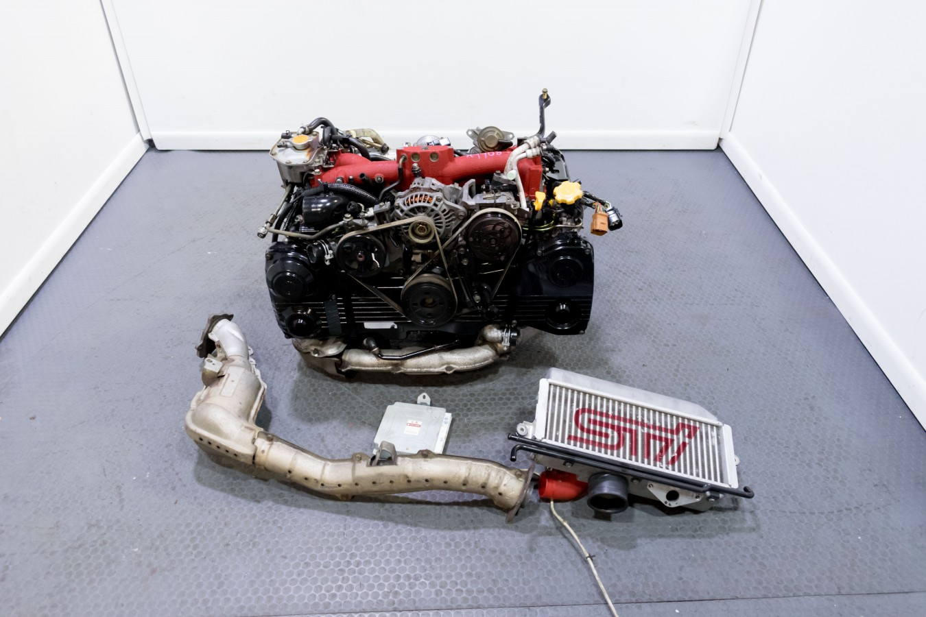 JDM Subaru Forester STi EJ255 Long Block Engine Replacement for EJ257  2004-2007 STI & 2006-2007 WRX with TMIC for sale