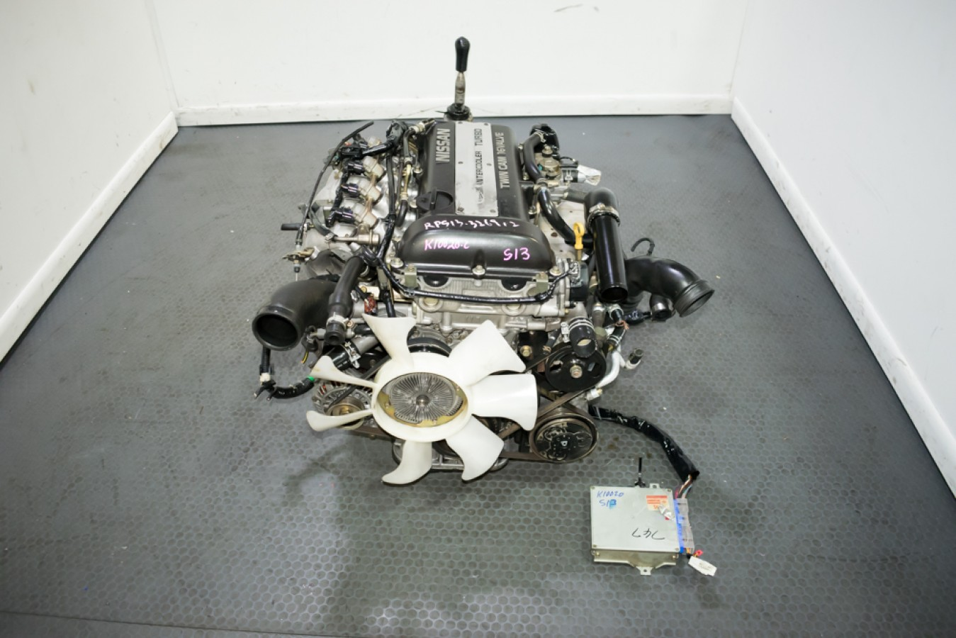 used clean blacktop nissan sr20det with 5 speed s13 sr20det wiring harness install 240SX S14