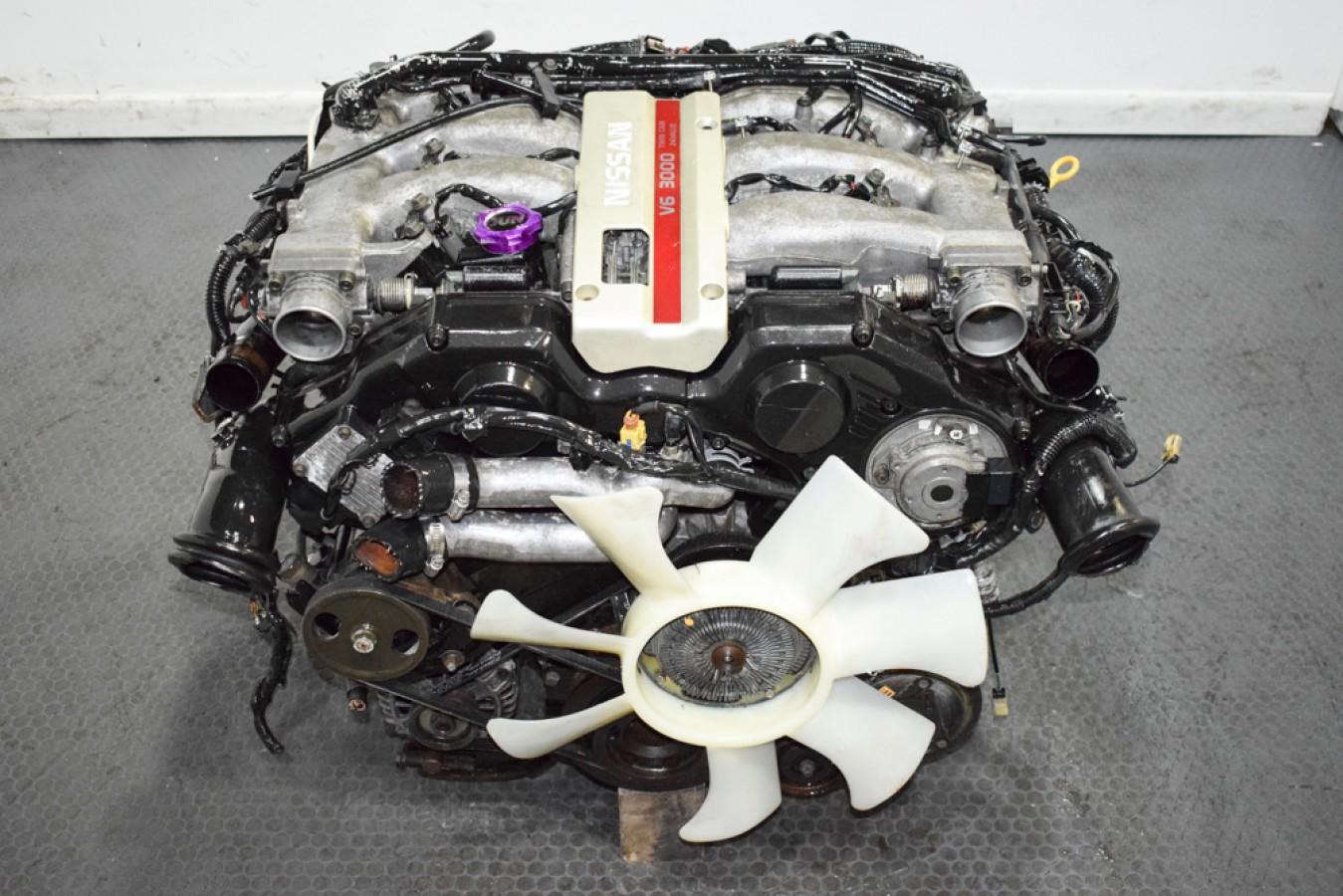 Low Mileage And Clean Jdm Nissan 300zx 91 96 Z32 Vg30dett Replacement Motor For Sale Nissan 300zx Vg30det Vg30de Engines J Spec Auto Sports
