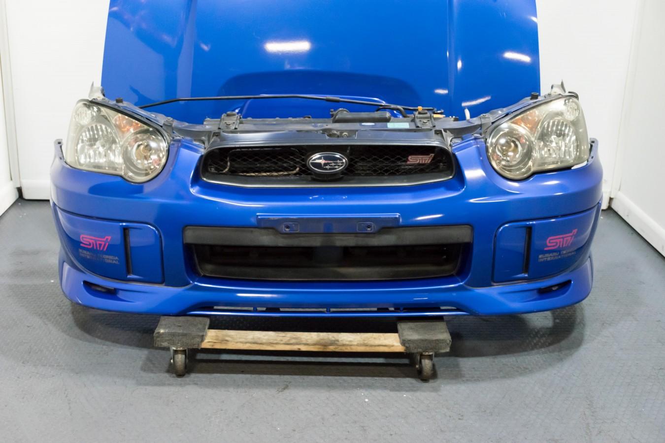 Used Subaru Wrx Sti >> Used JDM Subaru Impreza WRX Blobeye 2004 2005 Front Cut ...