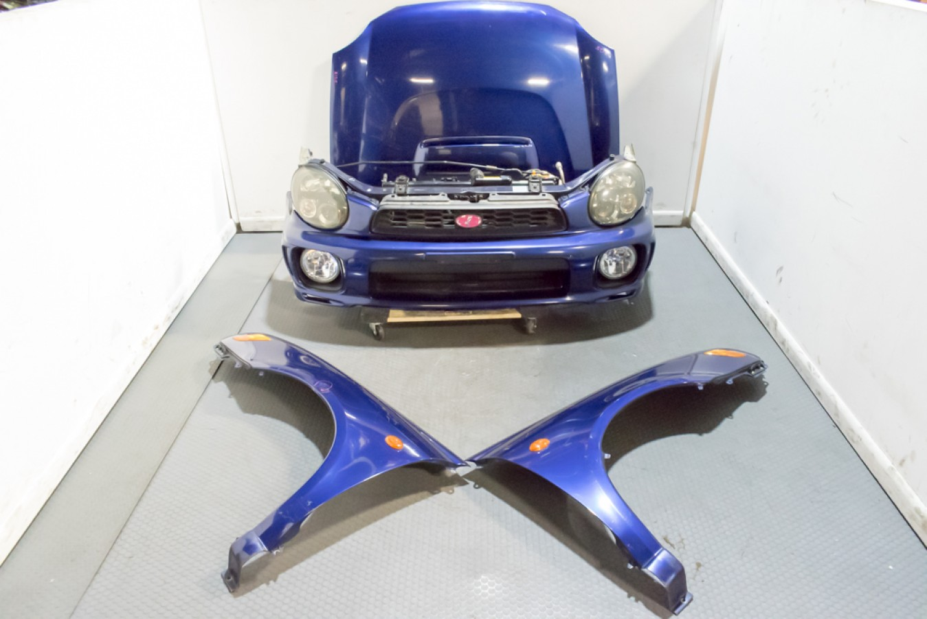 2002 2003 Subaru Impreza Wrx Wagon Front End Conversion With Hid Headlights Subaru J Spec Auto Sports