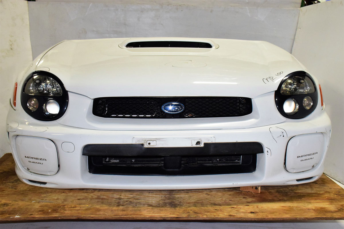 Toyota Of Sanford >> 2002 2003 Impreza WRX STI Bugeye Nose Cut with Aluminum Hood, Fenders, Front Bumper cover with ...