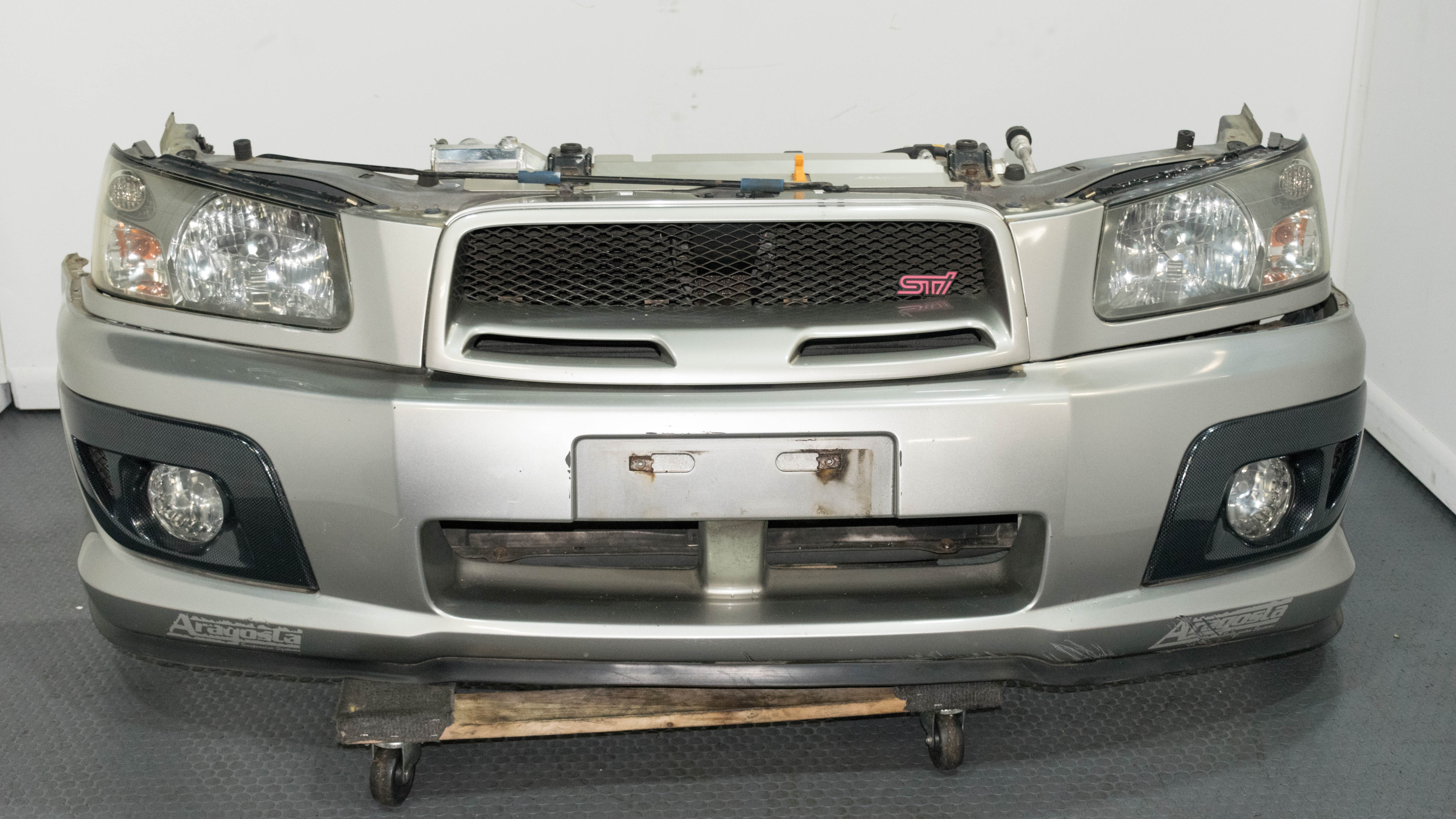 Sti For Sale >> SG9 Forester STI Front Bumper and Radiator Support For Sale with Nice STI Grill | Subaru | J ...