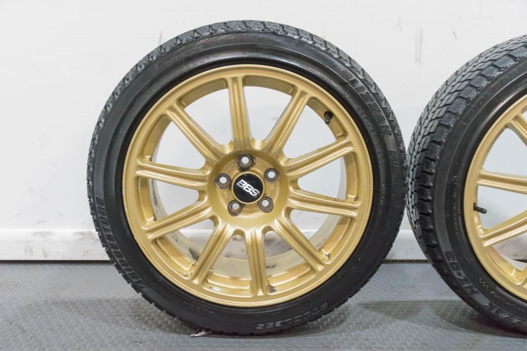 Used Subaru Wrx Sti For Sale >> Used Subaru Gold STi BBS 5x100 Bolt Pattern Forged for ...