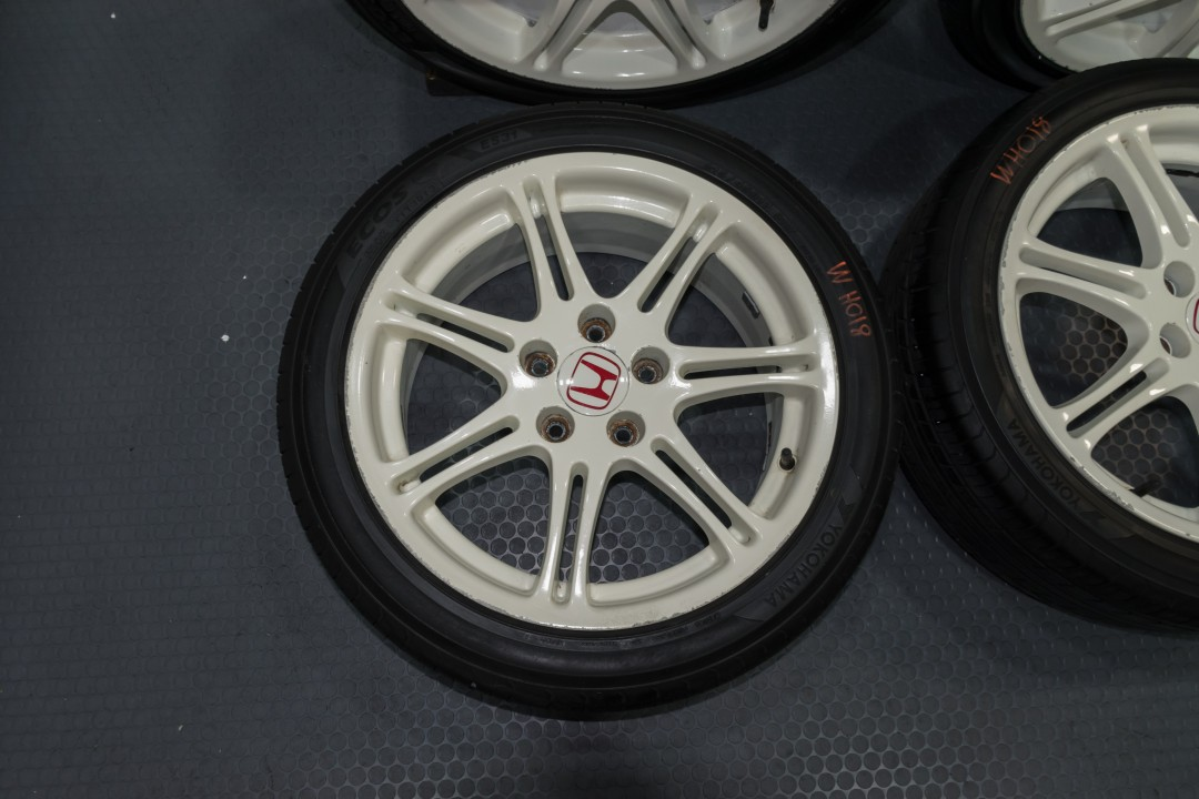 JDM EP3 Civic Type R Wheels 5x114.3 17x7 +45 for sale | Honda | J-Spec Auto Sports
