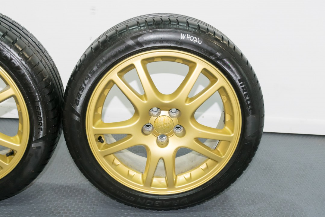 Used Toyota For Sale >> 5x100 STi 17x7.5 Wheels that Clear Brembos V7 Subaru OEM ...