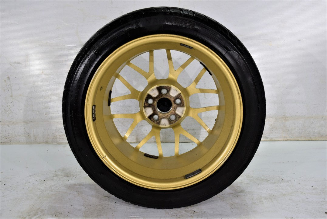 JDM GC8 STi 22B BBS RG334 Genuine *RARE* Wheels 5x100 17x8 ...
