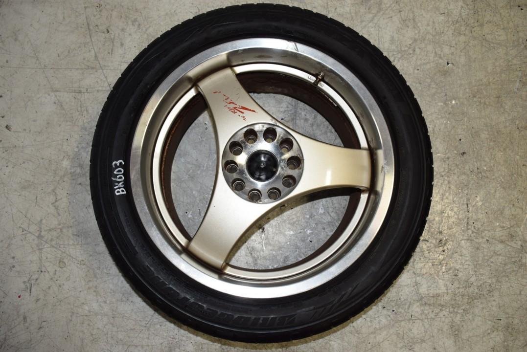 Lug Pattern >> RARE JDM Zelda Tri Force Vesta Staggered Three Spoke Wheel Set. 17x8 17x9 with +35 offset ...