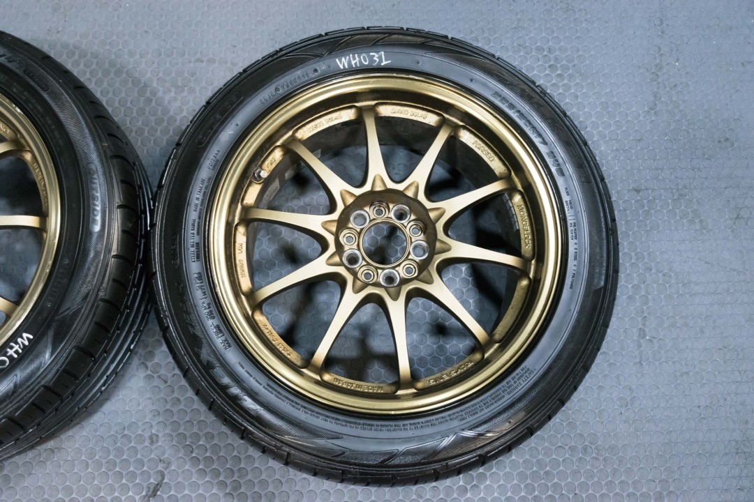 Honda Used Cars For Sale >> 4 Used JDM 17x8 Volk Racing CE28 Wheels by Rays ...