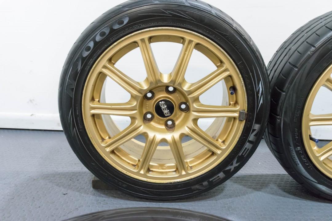 Jdm Cars For Sale >> A Clean Set of Four JDM Impreza WRX STI Forged BBS 17x8 ...