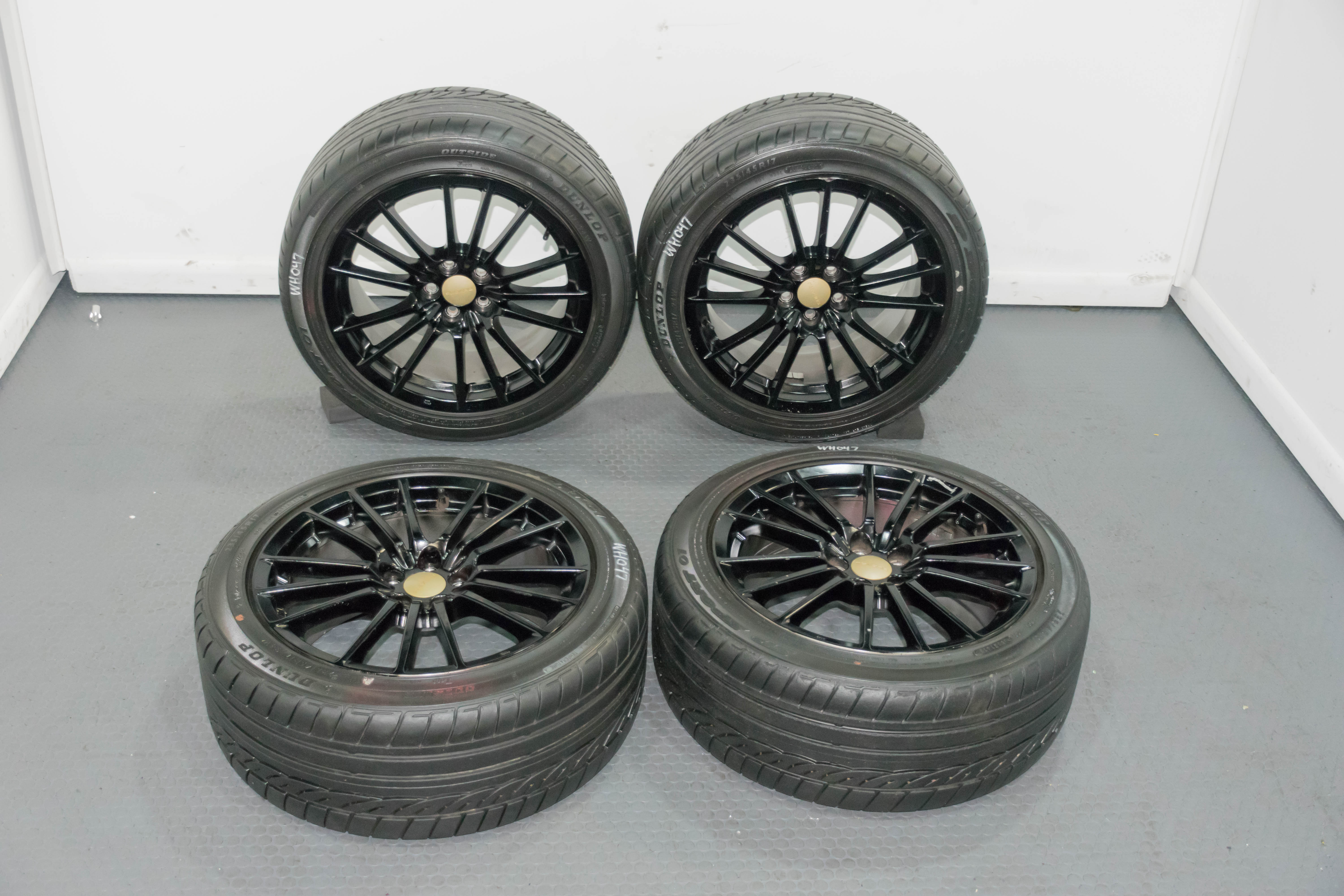 Used Wheels For Sale >> Used Set Of 17 Inch Subaru Black Wheels For Sale
